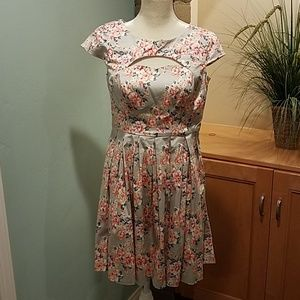 LC Lauren Conrad Short Sleeve Dress, Size 4